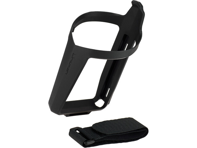 Birzman Uncage Bottle Cage with Hook-and-Loop-Strap black